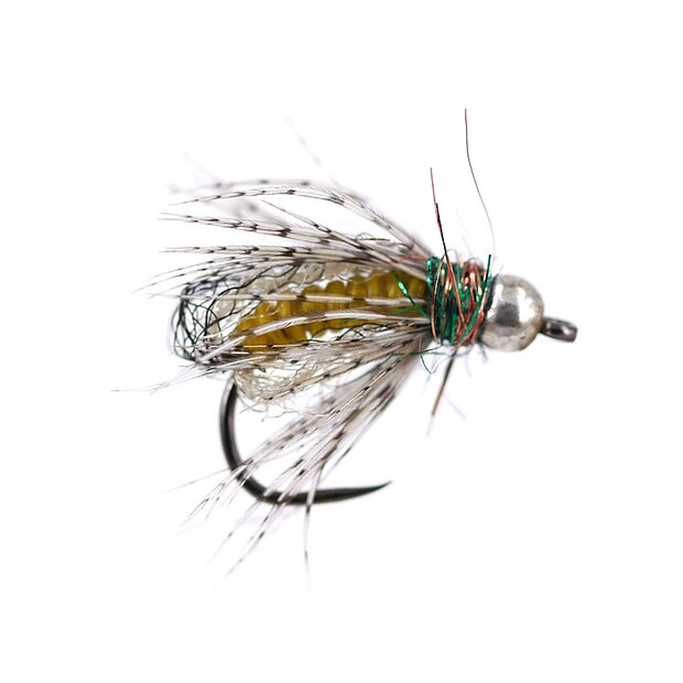 Yellow Comp. Caddis Naturfil Pupa TG BL