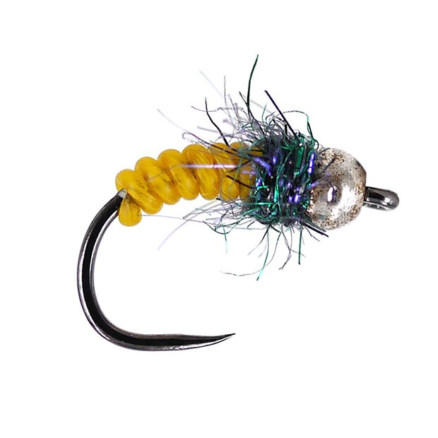 Ales Tactical Yellow Naturfil Nymph TG BL